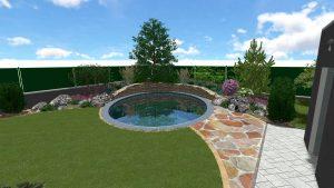 Návrh záhrady - galéria