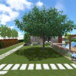 Návrh záhrady - malé orvište 6