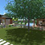 Návrh záhrady - malé orvište 7