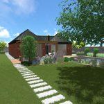 Návrh záhrady - malé orvište 8