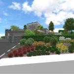 Návrh záhrady - hvozdnica 2