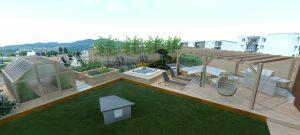 Návrhy záhrad- strešná záhrada8