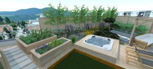 Návrhy záhrad- strešná záhrada7