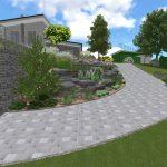 Návrh záhrady - hvozdnica 3