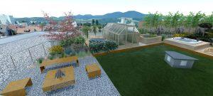 Návrhy záhrad- strešná záhrada6