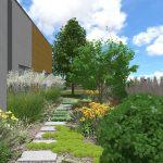 Návrh záhrady - maršová 4