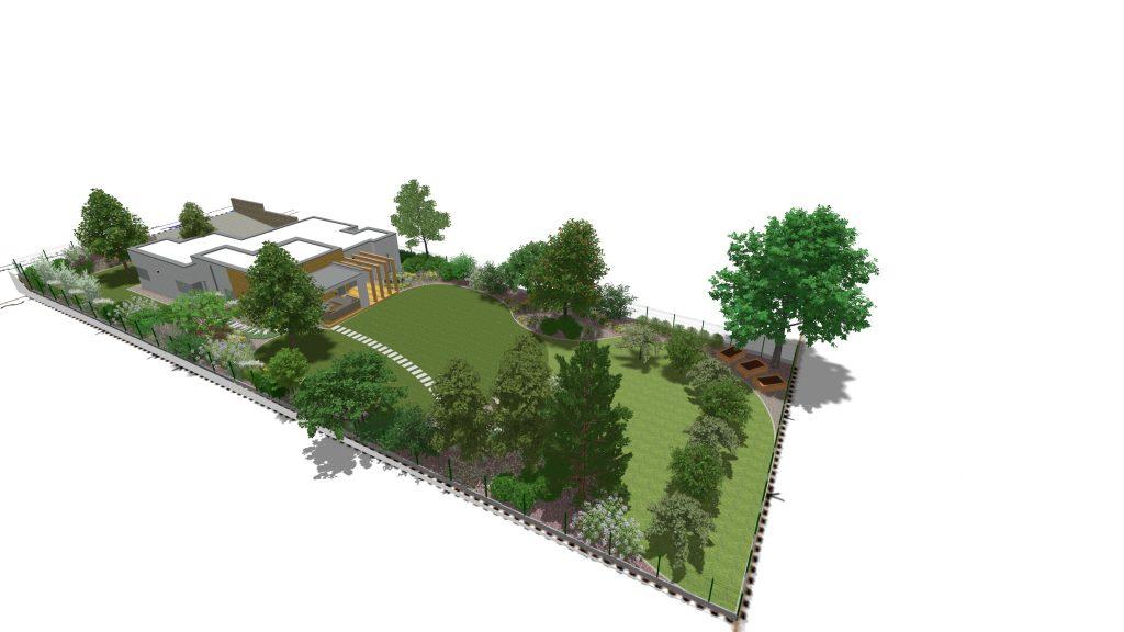 Návrh záhrady - úvodný obrázok