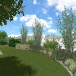 Návrh záhrady - maršová 3